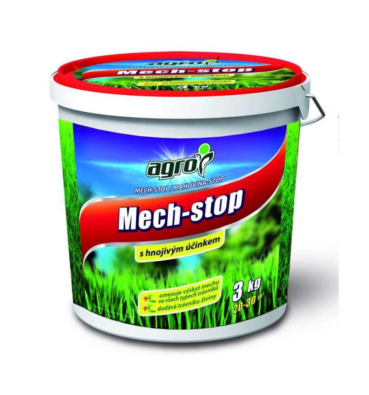 Doplnky a Hnojivá - Mach-stop 3 kg