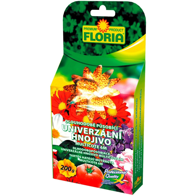 Doplnky a Hnojivá - Floria Hnojivo pre celú záhradu Multicote 200 g