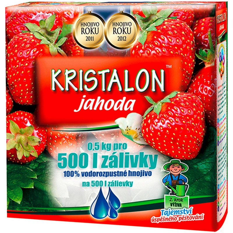 Doplnky a Hnojivá - KRISTALON Jahoda 500g