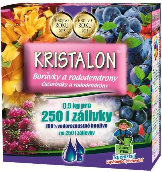 Doplnky a Hnojivá - KRISTALON Čučoriedka a rododendrón
