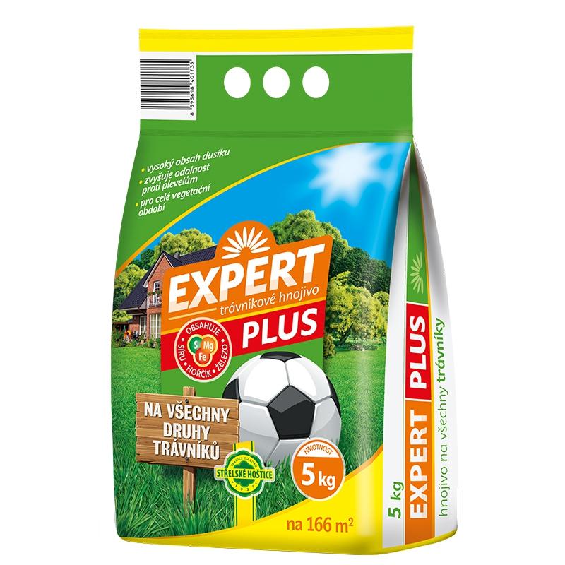 Doplnky a Hnojivá - Trávnikové hnojivo Expert 5 kg
