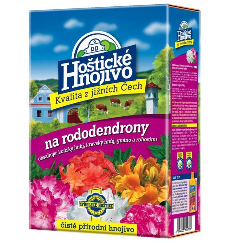 Doplnky a Hnojivá - Hoštické hnojivo - na rododendrony