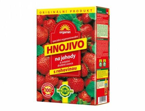 Doplnky a Hnojivá - Orgamin hnojivo na jahody a drobné ovocie